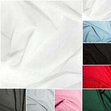 "Polyester Cotton Fabric - Plain - 45"" Width"