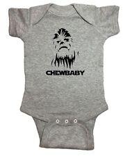 """Star Wars One Piece Chewbacca """"Chewbaby"""" Baby Bodysuit"""
