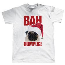 Bah Humpug Funny Mens T Shirt - Christmas Gift Secret Santa Stocking Filler