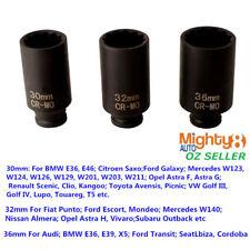 "Cr-Mo 1/2"" Dr 12PT 85mm Full High 50mm Deep Double Hex Impact Socket f Shaft Nut"