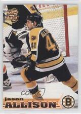 1998-99 Pacific Paramount #8 Jason Allison Boston Bruins Hockey Card