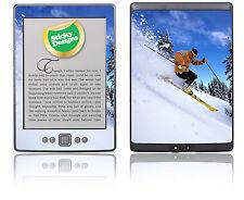 Amazon Kindle 4 Ebook Reader - Ski Scene Skin Sticker Cover