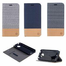 Handy Hülle Case #M35 Jeans zu MOTOROLA MOTO C PLUS Schutz Tasche Smartphone Bag