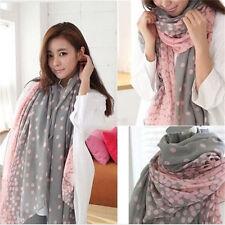 1.7M Women's Lady Long Candy Colors Scarfs-Shawls Wraps Stole Soft Scarves U6T
