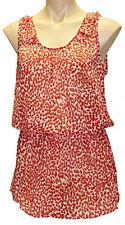 "New ""KATIES"" Women Plus Size 10,12,14,16,18,20 Chiffon Tunic  Blouse Top Shirt"