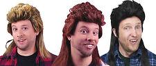 Adult Rockin' 80's Mullet Costume Wig