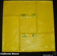 California Weave Decorative Concrete Cement Stamp Flexi
