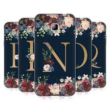Carácter oficial Magick Floral Monograma oro Navy 2 Gel caso para teléfonos Samsung 3