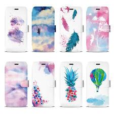 Mobiwear Book Style Handy Motiv Tasche Flip Case Hülle Cover Huawei P Smart