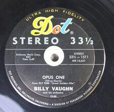 Pop Compact 33 45 Billy Vaughn - Opus One / Cherokee On Dot