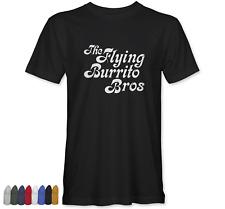 Flying Burrito Brothers T-shirt worn by Gram Parsons band music gift tee shirt