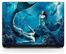 Sticker pc ordinateur portable Netbook autocollant Laptop Sirènes réf 226