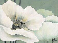 jettie roseboom: Amapola en verde I camilla-imagen de Pantalla Flores
