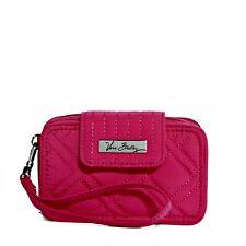 Vera Bradley Smartphone Wristlet 2.0 Wallet Clutch FUCHSIA PINK Iphone 4/5/SE