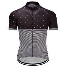 New Men's Short Sleeve Shirts Bike Riding Tops Cycling Jersey Comfortable Wear