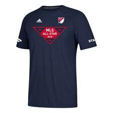 "2018 All Star Game MLS Adidas Men's Navy Blue ""Staff"" Perf T-Shirt"