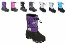 STORM KIDZ Waterproof Snow Boots Insulated - Cold Weather Unisex Toddler-Big Kid