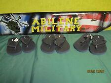 Old Navy Flip Flop Sandals Navy Blue Men Size 8 9 / Women Sizw 9.5  10.5