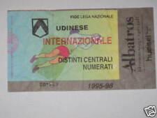 UDINESE - INTER BIGLIETTO TICKET 1995 / 96