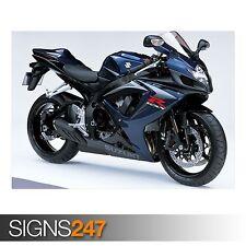 SUZUKI GSX R750 (AC431) POSTER MOTO-Foto immagine stampa poster art A0 a A4