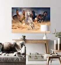3D Wüste Galoppieren Pferd 8444 Fototapeten Wandbild BildTapete AJSTORE DE Lemon