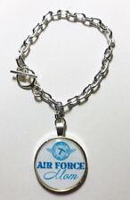 Air Force Mom Charm Bracelet