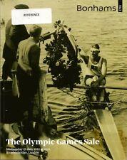 BONHAMS Olympic Games Memorabilia Torch Medal Tickets Art Photograph Catalog 12