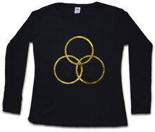Falling Skies Unity Logo da Donna Manica lunga T-shirt Skitter Mech alieno Simbolo Sign