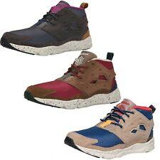 Reebok Men Athletic Shoes Furylite Chukka Shoes Batik Blue Running Sneakers