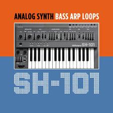 Roland SH-101 Analog Synth Bass Arp Loops (24-Bit WAV REX2 AIFF) Cubase Logic
