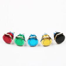Aluminium eloxiert Drucktaster Taster Klingel Klingeltaster 4A/250VAC 16mm