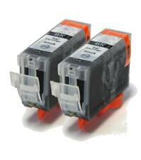 BCI-3BK x2 Black Compatible Printer Ink Cartridges BCI3 BCI-3