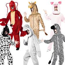 Deluxe Adultos Animal Fancy Dress Zoo Libro Semana Personaje Para Hombre Damas Traje Nuevo