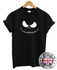 Jack Skellington T-Shirt S-XXL Para Hombre Para Mujer pesadilla antes de Navidad Tim Burton