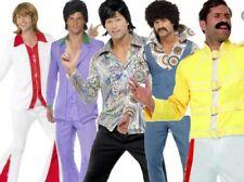 70s Music Disco Mens Adult 70's Super Trooper Adult Fancy Dress Costume New