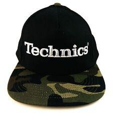 Technics DJ 3d Snapbacks (Various Colours) - Officially Licensed - Ltd Edition