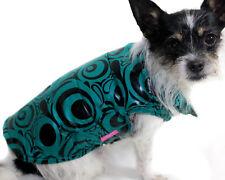Hundejacke Hund Mantel S M L XL XXL grün Neu Winter warm