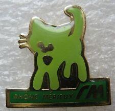 Pin's Animal Chat Rhônes Mérieux RM #1710