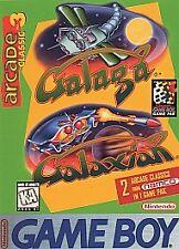 COMPLETE Galaga & Galaxian (Nintendo Game Boy 1995) Arcade Classic 3 box manual