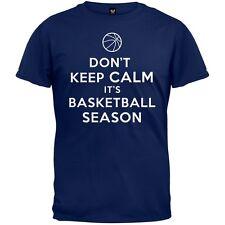 Don't Keep Calm Its Basketball Season Adult Mens T-Shirt