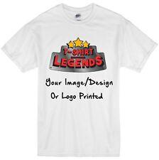 Custom Printed T Shirt Your Photo Print Image Design T Shirt