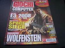 GIOCHI PER IL MIO COMPUTER N° 146 settembre 2008 GMC **