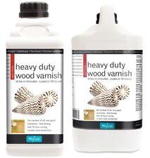 Polyvine Heavy Duty Interior Wood Varnish Satin 500ml / 1 Litre / 4 Litre