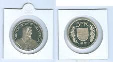 SUISSE 5 Francs PP de kms ( Choisissez entre : 1975 - 2011)