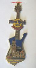 Hard Rock Cafe MANCHESTER St Anns Guitar Series Pin .