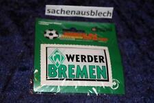 SV Werder Bremen Aufkleber domiert 3D  Motiv 3/3 Raute