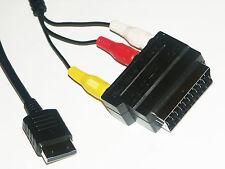 Cinch Anschluß Kabel 2,0m für Sega Dreamcast mit Scart Adapter (DC0005)