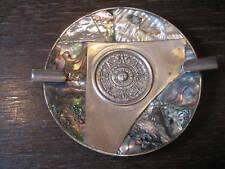 dekorativer Aschenbecher mit Maya Kalender Mayakalender
