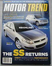 Motor Trend 07/2005 featuring AMG Mercedes CLS55, Bentley, BMW M6, Mitsubishi