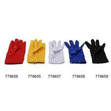 Michael Jackson Sequin Glove Fancy Dress Accessory Unisex Left Hand Glove JA